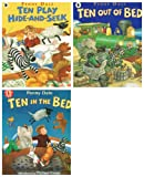 Penny Dale Penny Dale: 3 books: Ten in the Bed Series (Ten in the Bed / Ten Play Hide-And-Seek / Ten Out of the Bed rrp £17.97)