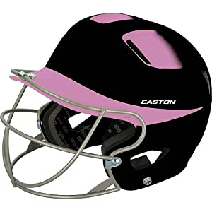Buy Easton Natural Two Tone Junior Batting Helmet W  Softball Mask   by Easton