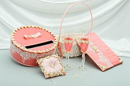 handmade geld box ring kissen gl ser blumenkorb und g stebuch alles f r hochzeit. Black Bedroom Furniture Sets. Home Design Ideas