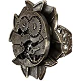 Steampunk Watch Gears Ring Adult Steampunk watch gearing adult for Halloween Size: One-Size (japan import)