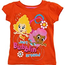 Bubble Guppies Toddler Orange T-Shirt 7B7763 (2T)