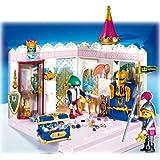 Playmobil - 4255 - Le Château de Princesse -  Garde + Brigand + Chambre tresor