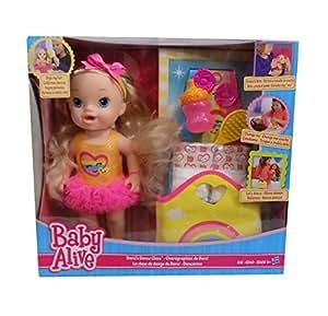 Amazon Com Baby Alive Darcis Dance Class Blonde Hair Doll