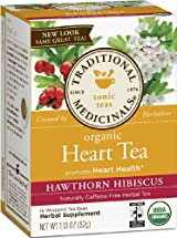 Organic Heart Tea, Traditional Medicinals, 16 Tea Bags