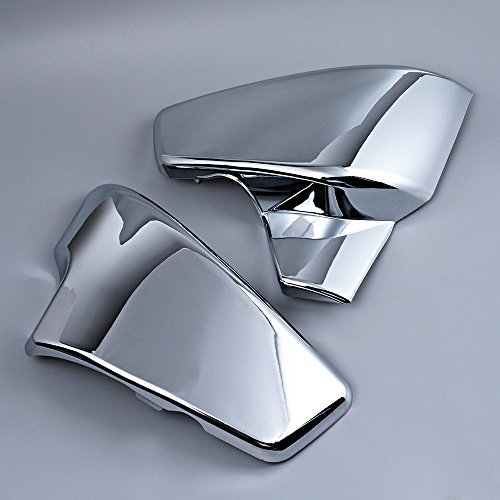 Chrome Battery Side Cover For Honda Shadow VLX 600 1999-2008 VT 600 C CD Deluxe 1999-2007 (Honda Shadow Chrome Side Covers compare prices)