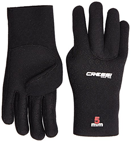 Cressi-High-Stretch-Guantes-de-buceo-color-negro-talla-S