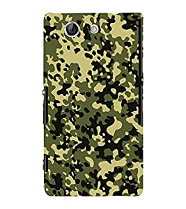 Excellent Oil Painting 3D Hard Polycarbonate Designer Back Case Cover for Sony Xperia Z4 Mini :: Sony Xperia Z4 Compact