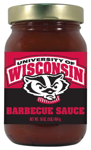 4 Pack Wisconsin Badgers BBQ Sauce Sweet & Smoky