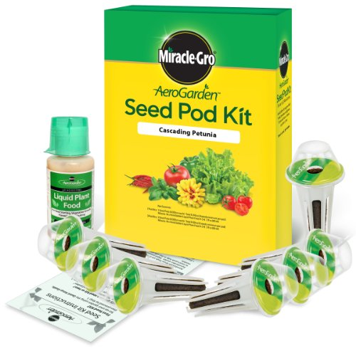 Miracle-Gro AeroGarden Cascading Petunia Seed Pod Kit (7-Pod)