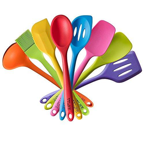 ttlife-8pcs-colorato-spatola-in-silicone-utensili-da-cucina-set-antiaderente-in-silicone-cottura-set