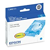 Epson T044220 Cyan Ink Cartridge (C64, C66, C84, C86, CX4600, CX6400, CX6600 Printers)