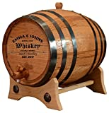 Personalized - Customized American White Oak Aging Barrel - Barrel Aged