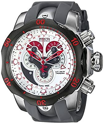 Invicta Men's 14467 Venom Analog Display Swiss Quartz Grey Watch