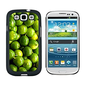 Limes - Snap On Hard Protective Case for Samsung Galaxy S3 - Black