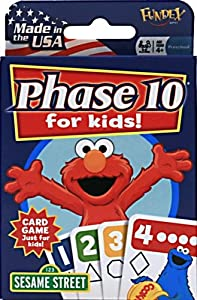 Sesame Street Card Games Phase 10 for Kids Card Game