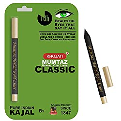 K-Veda Mumtaz Herbal Kohl Liner Classic - Pure Indian Kajal