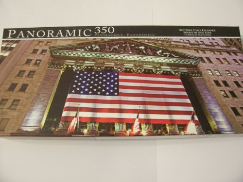 Panoramic 350 Piece Puzzle ~ New York Stock Exchange by LPF