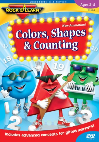 Rock N Learn: Colors Shapes & Counting [DVD] [2003] [NTSC]