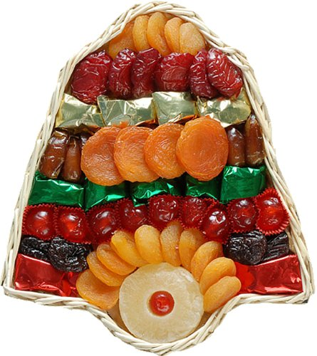 dried dates fruit. Dried Fruit Holiday Bell