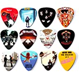 12 x Famous Album Cover Guitar Picks Plectrums Set A