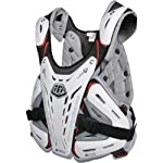 Troy Lee Designs CP 5900 Adult Roost Guard Motocross/Off-Road/Dirt Bike Motorcycle Body Armor - White / Medium