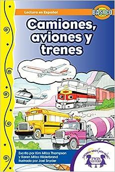 Amazon.com: Camiones, Aviones y Trenes (Dual Language nº 4) (Spanish