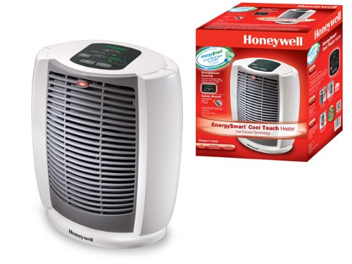 Honeywell Deluxe Energysmart Cool Touch Heater White