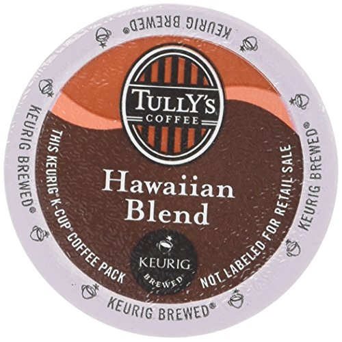 48 Count - Tully's Coffee Hawaiian Blend Coffee K Cup For KEURIG Brewers (K Cups Coffee Hawaiian Blend compare prices)