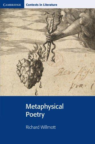 Metaphysical Poetry (Cambridge Contexts in Literature)