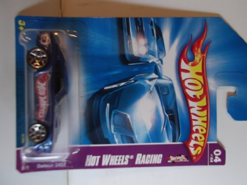 Hot Wheels Racing 2007 Datsun 240Z 04 of 04 #080/180 Blue with 5 Y Wheels - 1