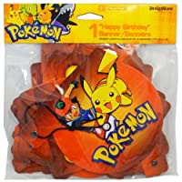 DesignWare Pokemon Happy Birthday Hinged Banner from American Greetings Corp.