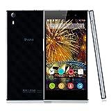 iNew L3 - Smartphone Libre 4G Android 5.0 (Quad-Core, 5.0'' IPS OGS Pantalla, 2G Ram, 16G Rom, Dual SIM, Smart Gestos, OTG, GPS) Celular - Negro