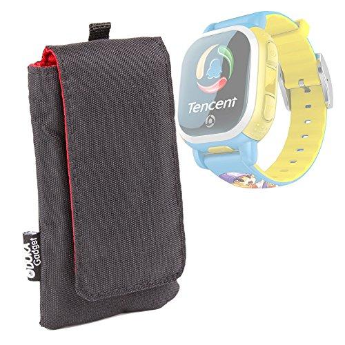duragadget-custodia-nera-per-tencent-pq708-qqwatch-bambini-misafes-smart-watch-gps-q5s-tracker-nilox