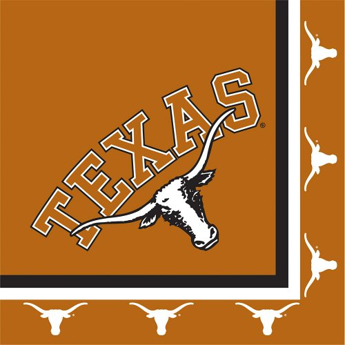 Creative Converting Texas Longhorns Luncheon Napkins (20 Count)