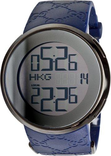 c6ed727f100 Buy Cheap GUCCI Men s YA114208 114 GG Rubber Digital Watch FREE Shipping