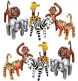 amazoncom fun express jungle animal print safari party