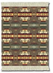 Lextra (Pendleton Khaki Chief Joseph), Mouserug, Khaki/Burgundy/Gold, 10.25 x 7.125 Inches, One (PRC-1)