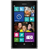 Nokia Lumia 925 RM-893 GSM Unlocked 4G LTE Windows 8 Smartphone - Black/Dark Grey