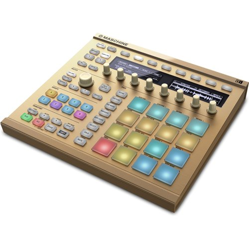 Find Bargain Native Instruments MASCHINE MK2 Vintage Gold