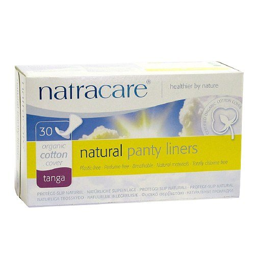 Natracare Natural Panty Liners, Thong 30 ea