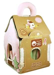 Dandelion Pink Organic Developmental Little House Sorter