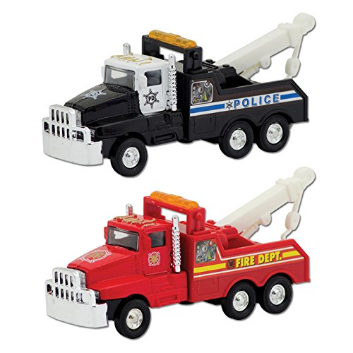Die Cast Emergency Tow Truck (Sold Individually - Colors Vary)