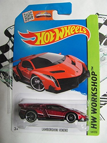 Hot Wheels Lamborghini Veneno in RED!! Hot New Release!! - 1