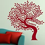 Tree Of Life Vinyl Wall Transfer / Huge Interior Decor / Large Wall Decal TR16