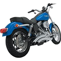 Vance & Hines Big Radius 2-Into-1 Exhaust System - Chrome , Color: Chrome 26059