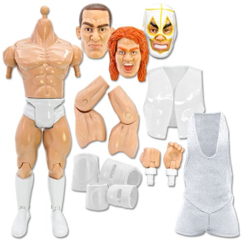 Build a Wrestling Action Figure Kit Special Deal: