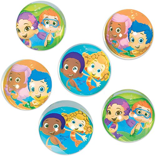 Bubble Guppies Bounce Balls (6)