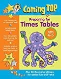 img - for Coming Top Preparing for Times Tables Ages 4-5: Get A Head Start On Classroom Skills - With Stickers! book / textbook / text book