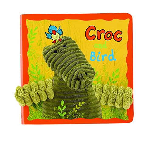Jellycat Board Books, Croc & Bird Book - 1