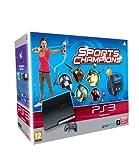 Console PS3 320 Go noire + Pack découverte (jeu PS Move) + Sport Champions...